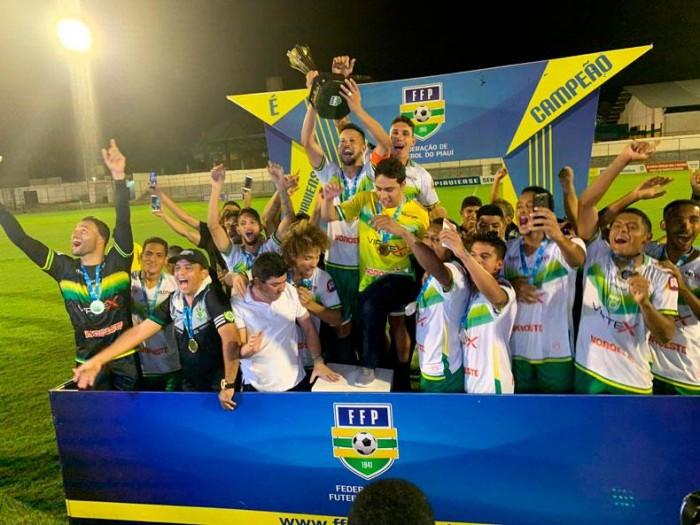 Picos conquista o título da série B do campeonato Piauiense