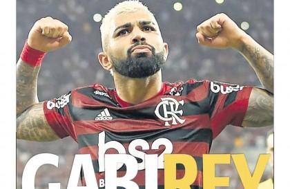 Gabigol é eleito o Rei da América; Flamengo coloca...