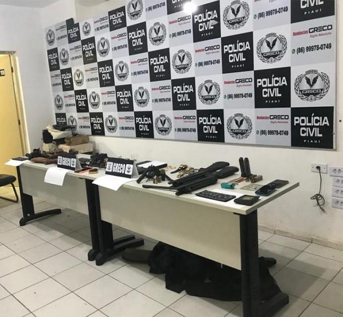 Policiais do Piauí são presos suspeitos de envolvimento em ações criminosas
