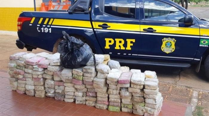 PRF apreende mais de 200 quilos de cocaína no município de Picos