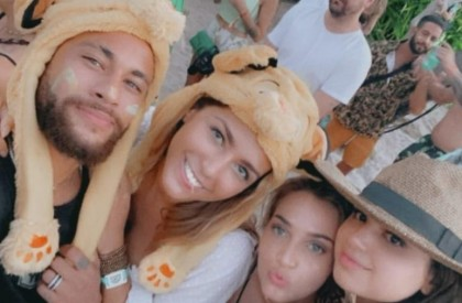 Réveillon de Neymar na Bahia tem