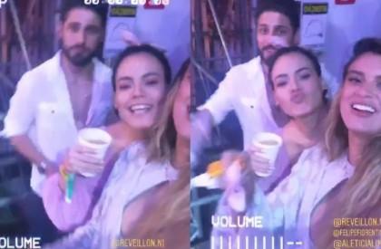 Atores Letícia Lima e Daniel Rocha vivem romance às...