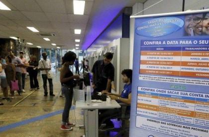 FGTS: 42% dos trabalhadores ainda não retiraram o complemento do saque