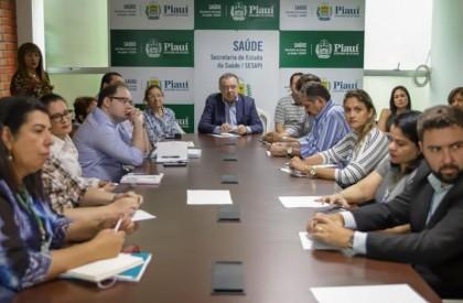 Governo define estratégias de prevenção ao coronavírus no Piauí