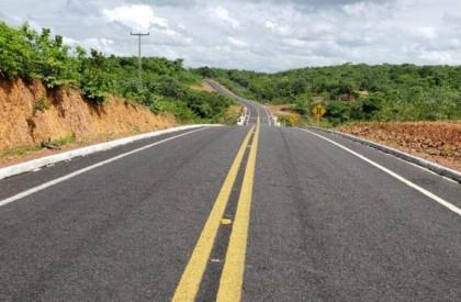 Governo inaugura último trecho da PI 309, em Cocal