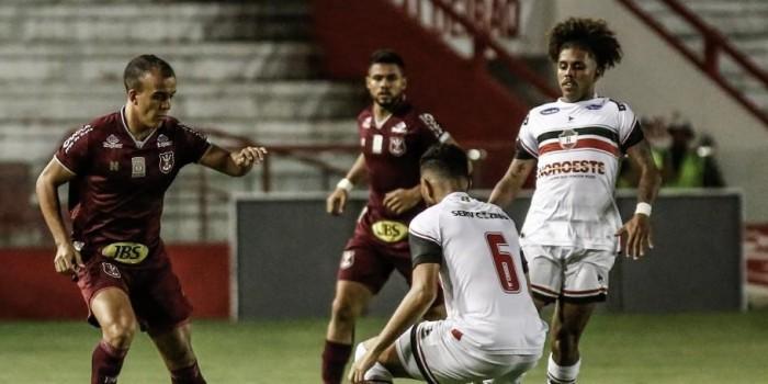 River empata com Náutico em estreia na Copa do Nordeste