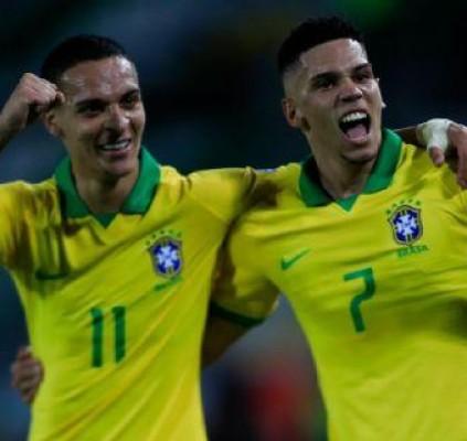 Seleção brasileira estreia no Pré-Olímpico com vitória...