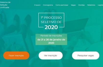 SISU 2020: inscrições são abertas e prazo final termina no domingo(26)