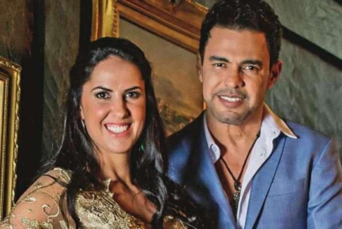 Zezé di Camargo é acusado de traição, e Graciele Lacerda ironiza