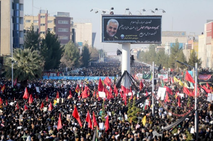 Tulmuto no funeral do general iraniano deixa ao menos 45 mortos