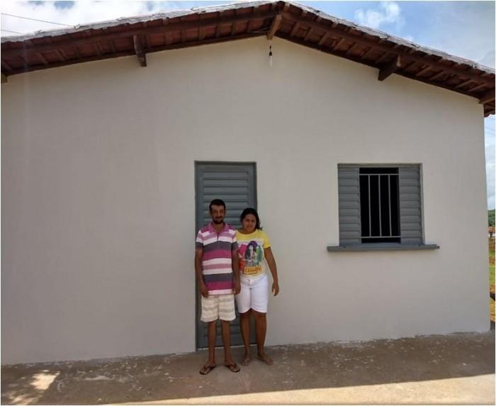 ADH constrói e entrega casas na zona rural de Picos