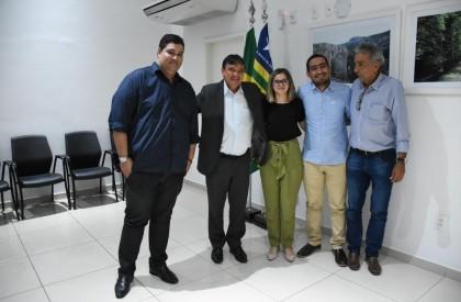 Maria Santana se reúne com o governador e solicita investimentos para o CIEM de Picos
