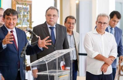 Governador decreta calamidade e suspensão de serviços para combater a Covid-19