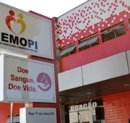 Hemopi agenda doação de sangue e mantém...