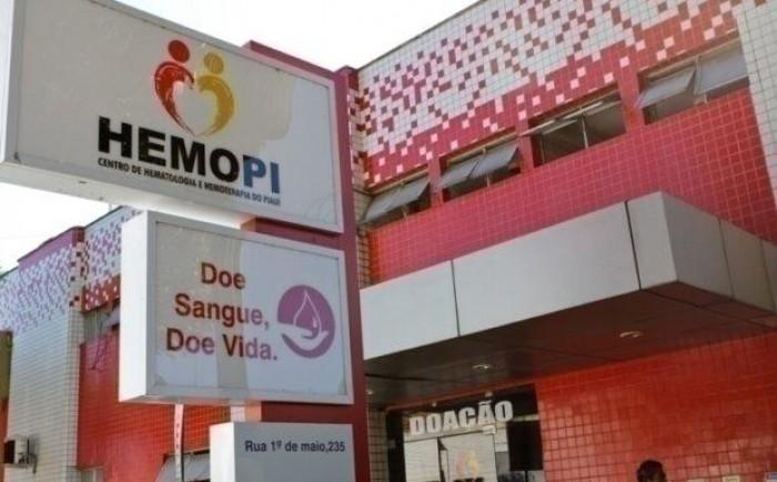 Hemopi agenda doação de sangue e mantém atendimentos de urgência