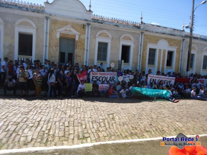 Pedro II: Realizada manifestação pela a educação do PI