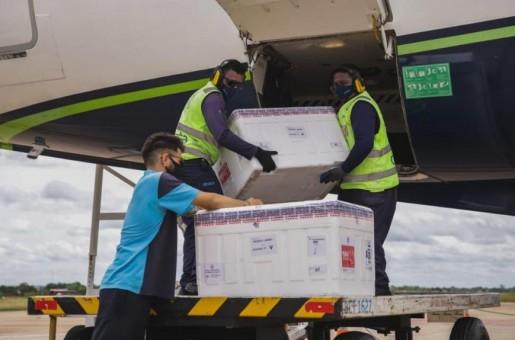 Piauí recebe lote com mais de 70 mil doses de vacinas contra Covid-19 nesta sexta (30)