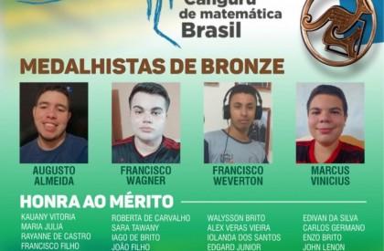 Estudantes piauienses são medalhistas em Olimpíada internacional de Matemática