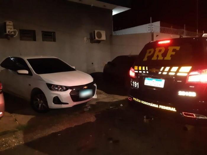 Empresário de Teresina é preso pela PRF após ser flagrado com veículo clonado
