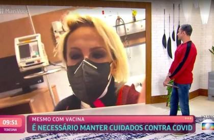 Ana Maria Braga pega Covid e passa bem: 'São sintomas de gripe, mas não me sinto prostrada'