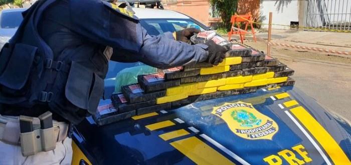 Casal é preso com droga avaliada em mais de R$ 6 Milhões, em Teresina