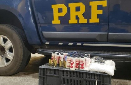 Idoso é preso com arsenal para a fabricação de munições, no Piauí