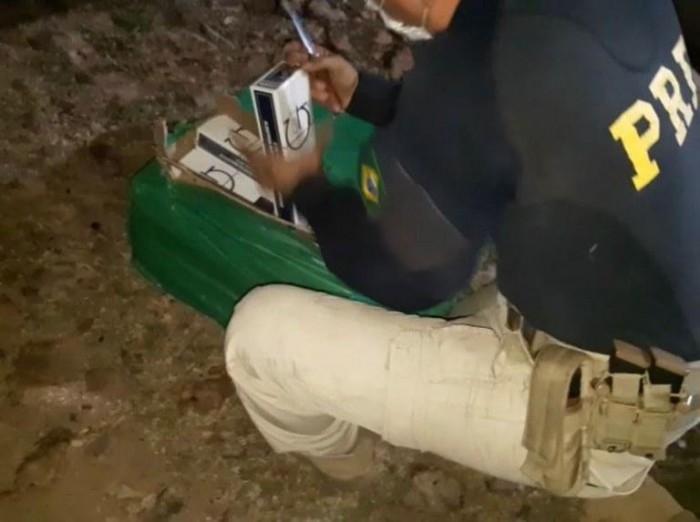PRF apreende em Teresina carga de cigarros contrabandeados avaliada em mais de R$ 481 Mil