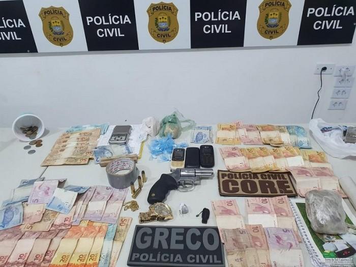 PC-PI realiza três prisões por tráfico na zona norte da capital